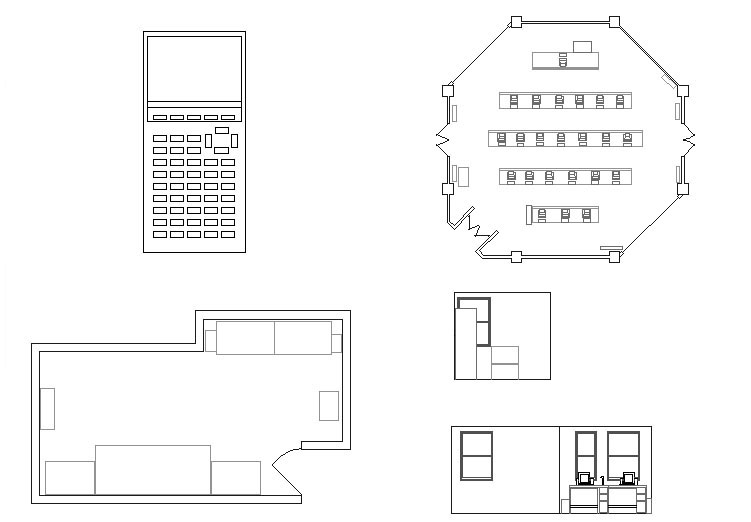 Hotel Front Elevation Cad Drawings : Autocad front elevation sipmal drawings joy studio